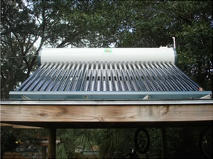 direct integrated solar water heater