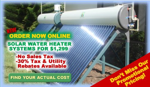 Solar Water Heaters by QDD Solar of Gainesville, Florida